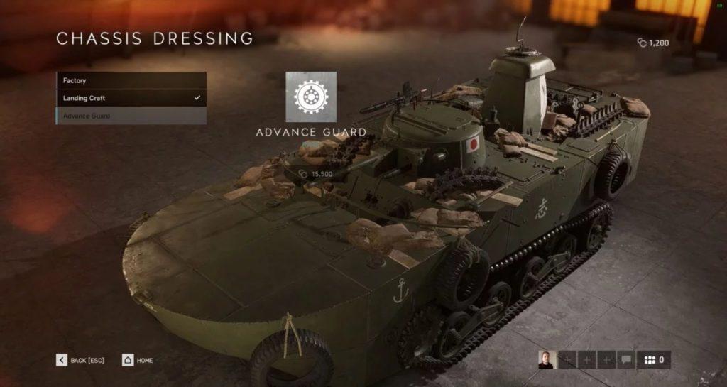 Battlefield V Tankları Kişiselleştirme Özelliği 1