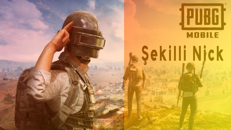 PUBG Mobile Şekilli Nick